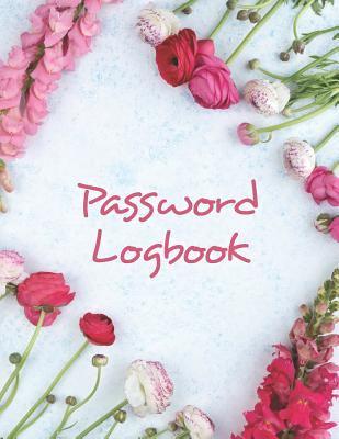 Large Print Password Logbook | Write Down Internet Login Info: Alphabetical Internet Organizer for Seniors