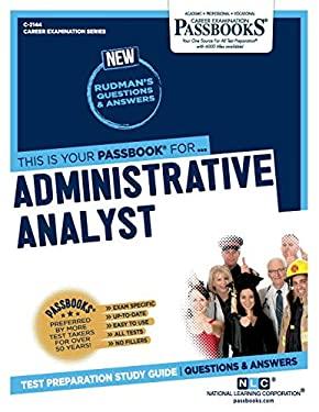 Administrative Analyst (Career Examination Series)