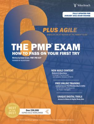 The PMP Exam: How to Pass on Your First Try: 6th Edition + Agile (Test Prep series)