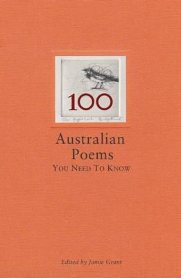100 Australian Poems You Need to Know 9781740666206