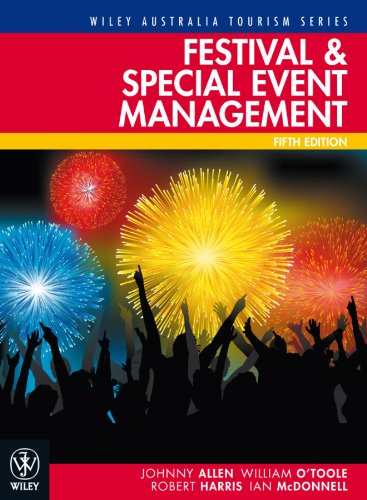 Festival and Special Event Management 9781742164618