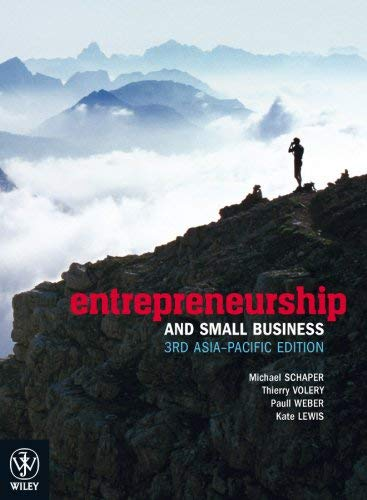 Entrepreneurship and Small Business 9781742164625