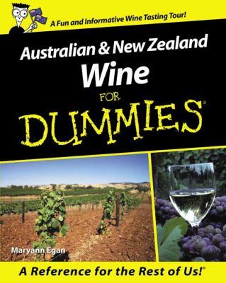 Australian & New Zealand Wine for Dummies 9781740310086