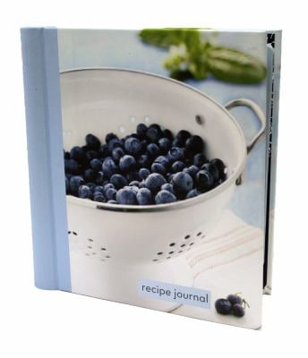 Blueberry Colander Small Recipe Journal 9781742683461