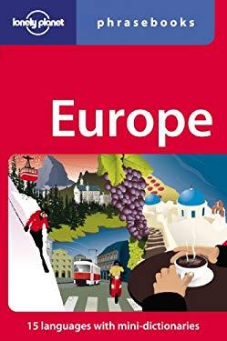 Europe Phrasebook 9781741799736