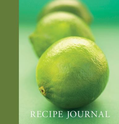 Lime Recipe Journal 9781741108552