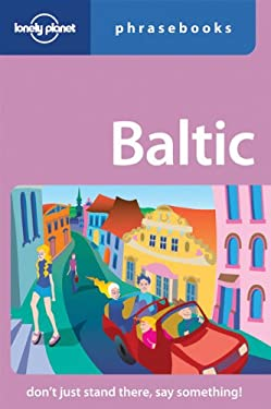 Lonely Planet Baltic Phrasebook 9781741046120