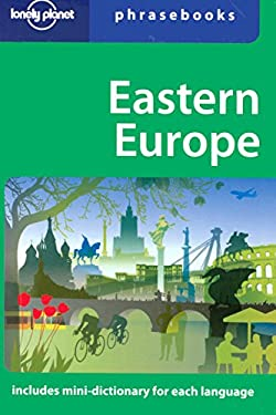 Lonely Planet Eastern Europe Phrasebook 9781741040562