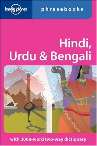 Lonely Planet Hindi, Urdu & Bengali Phrasebook 9781740591492