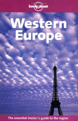 Lonely Planet Western Europe 6/E 9781740593137