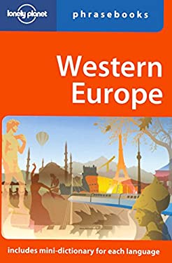 Lonely Planet Western Europe Phrasebook 9781741040593