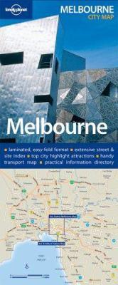 Melbourne City Map 9781740597173