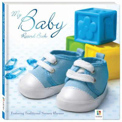 My Baby Record Book (Boys) 9781741846270