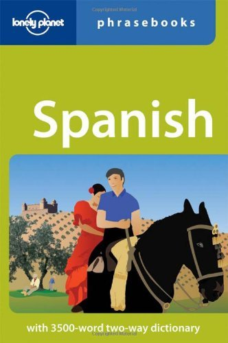 Lonely Planet Spanish Phrasebook 9781741793390
