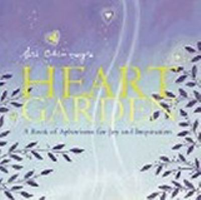 Sri Chinmoy's Heart Garden: A Book of Aphorisms for Joy and Inspiration 9781741102369