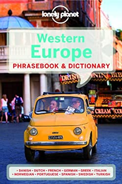Lonel Western Europe Phrasebook 9781741790115