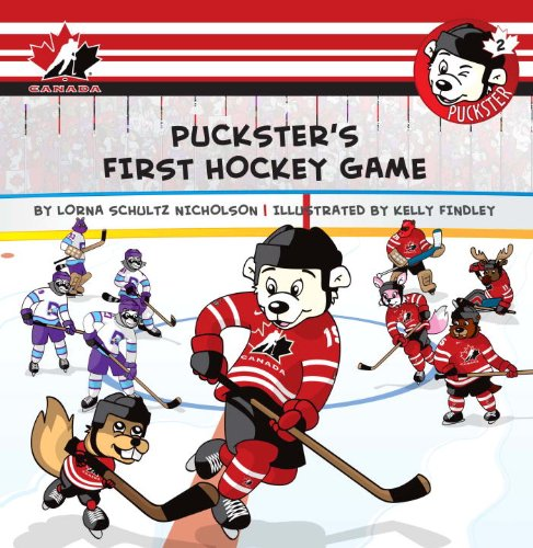 Puckster's First Hockey Game 9781770493162