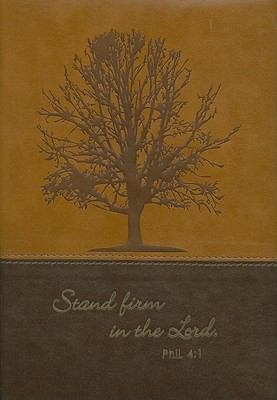 Stand Firm Brown Two Tone Journal 9781770365414