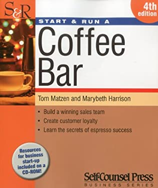 Start & Run a Coffee Bar [With CDROM] 9781770400351
