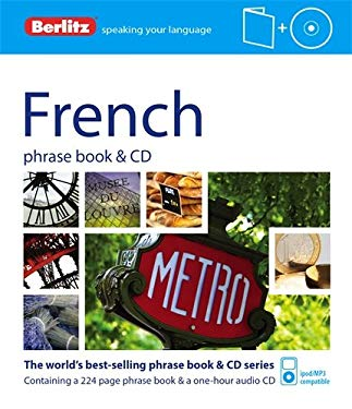 Berlitz French Phrase Book and CD [With Phrase Book] 9781780042718