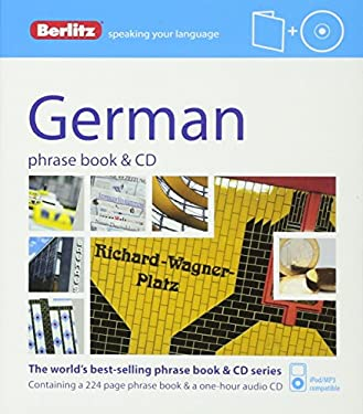 Berlitz German Phrase Book and CD 9781780042725
