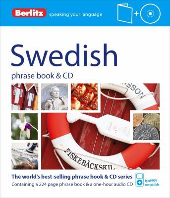 Berlitz Swedish Phrase Book and CD [With Book] 9781780042756