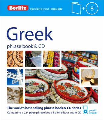 Berlitz Greek Phrase Book and CD [With Book] 9781780042763