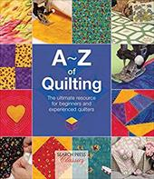 """A comprehensive manual covering everything you need to know about quilting. Learn how to create and assemble a quilt top with a vast array of techniques including piecing, patchwork, applique, embroidery, beading, tucking, ruching and slashing. Discover both hand and machine quilting as well as specialty techniques such as trapunto, echo quilting, corded quilting and tufting. Finally, learn how to make and use binding to finish your quilt. This complete guide will be invaluable both for those new to quilting and those who have been creating heirlooms for decades. """""""