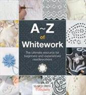 """The ultimate resource for beginning and experienced needlecrafters who want to discover the timeless appeal of whitework in its many forms. Whitework is white on white embroidery where the texture of the stitchery, whether it be delicate or bold, creates the beauty and interest. Over 1,000 step-by-step photos illustrate the creation of this beautiful traditional white-on-white embroidery which has inspired needlecrafters for centuries. Encompassing candlewicking, Mountmellick, cut work, applique, shadow work and net embroidery, this comprehensive guide in the proven A-Z format includes many useful tips and fascinating historical information."""""""