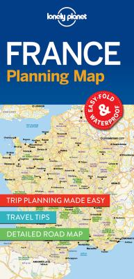 France Planning Map (Travel Guide)
