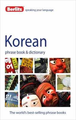 Berlitz Korean Phrase Book and Dictionary 9781780042879