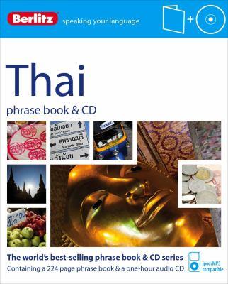 Berlitz Thai Phrase Book & CD [With Phrase Book] 9781780043067