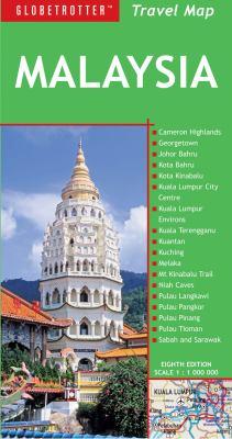Malaysia Travel Map 9781780090207