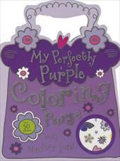 My Perfectly Purple Purse Mini Coloring Book (9781780657509 19422071) photo