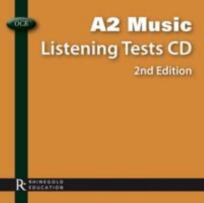 OCR A2 Music Listening Tests CD 9781780381244