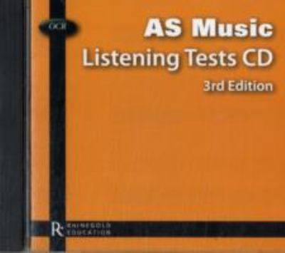 OCR AS Music Listening Tests CD 9781780381251