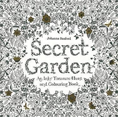 Secret Garden: An Inky Treasure Hunt 9781780671062