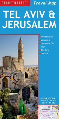 Tel Aviv and Jerusalem Travel Map, 2nd 9781780091730