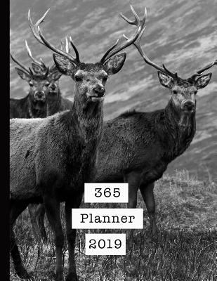 365 Planner 2019: Mens professional planner for all your diary and organisational needs - Stags on the loch
