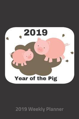 Plan On It 2019 Weekly Calendar Planner - Year Of The Pig: 14 Month Pocket Appointment Notebook