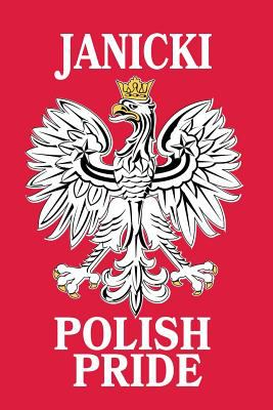 Janicki Polish Pride: Lined Journal