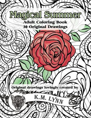Magical Summer: Adult Coloring Book