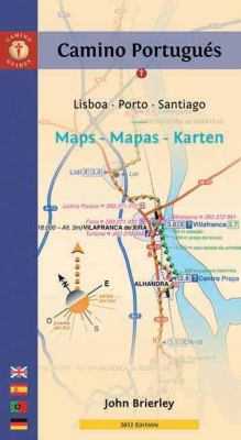 Camino Portugues Maps - Mapas - Karten: Lisboa - Porto - Santiago