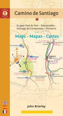 Camino de Santiago Maps - Mapas - Cartes: St. Jean Pied de Port - Roncesvalles - Santiago de Compostela - Finisterre 9781844095995