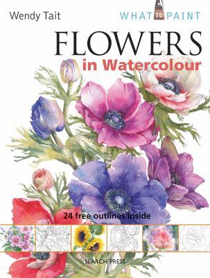 Flowers in Watercolour 9781844486588