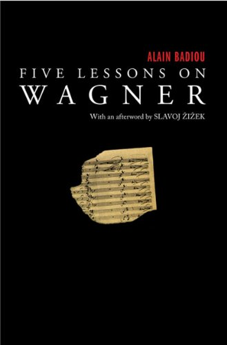 Five Lessons on Wagner 9781844674817