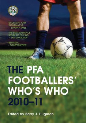 The Pfa Footballers' Who's Who 2010-11