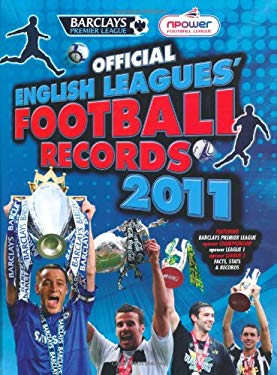 Official English Leagues' Football Records 2011 9781847326140