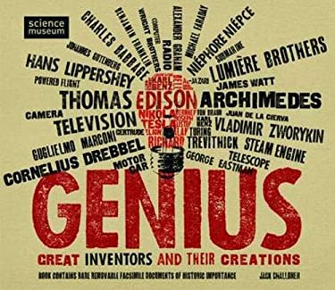 Genius: Great Inventors and Their Creations [With 20 Rare and Removable Facsimile Documents] 9781847326416