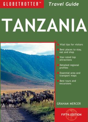 Globetrotter Tanzania Travel Guide [With Travel Map] 9781847738110